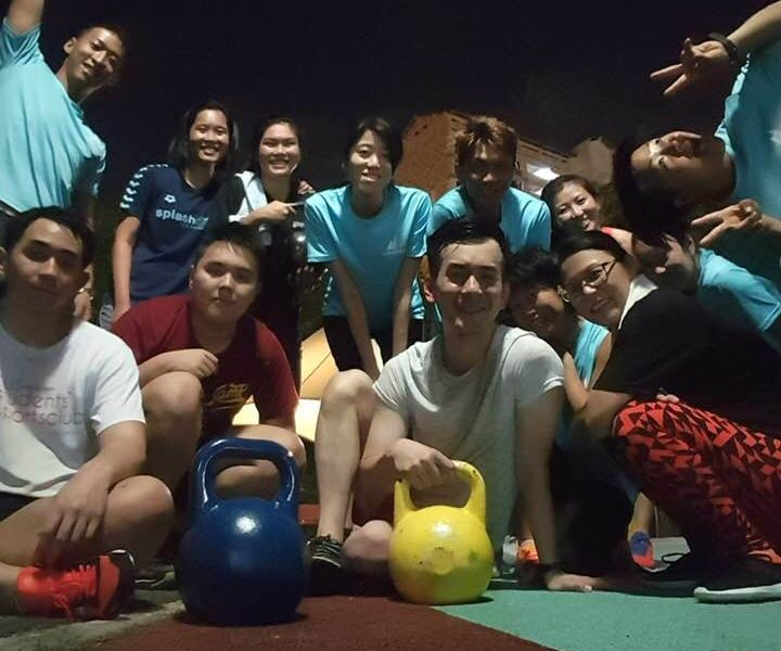 Coach Jake nanfeng compound workout exercise fit health fitness Personal Trainer Coach Singapore